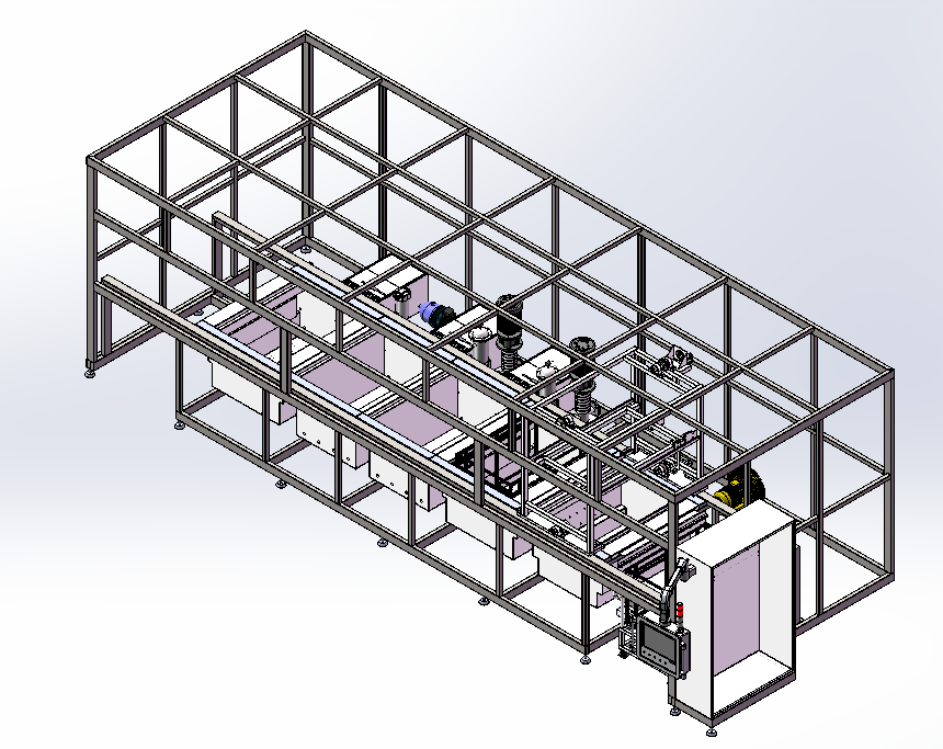 TYHD-L5218CH全自动龙门步进式超声波清洗干燥机
